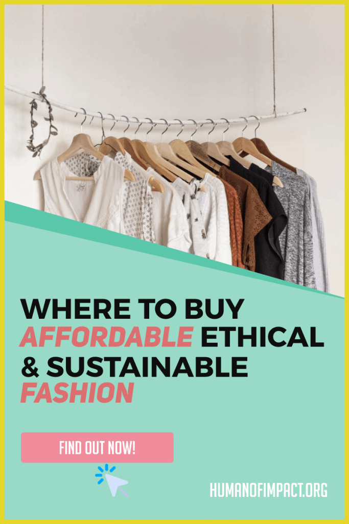 Sustainable and ethical clothing is known for being expensive. Here's how and where to find clothing that is still stylish! Whether you love thrift store fashion or love new ethical fashion brands, this ethical shopping guide will help you!  #ethicalfashionclothes #secondhandfashion #sustainablefashion