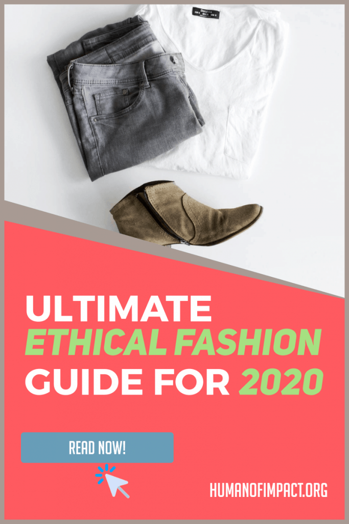 This ethical fashion guide has everything you need without the fluff! This guide is great for ethical living beginners who want to know more about fast fashion, ethical fashion vs sustainable fashion, and tips on shopping for affordable ethical fashion brands. There's also a list of ethical fashion bloggers and youtubers! #sustainableliving #fairtrade #sustainableclothes