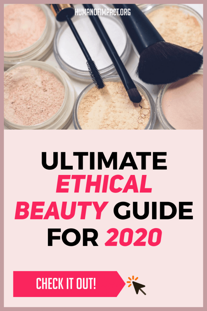 The no-fluff guide to ethical and sustainable beauty tips and recommendations. #ethicalbeauty #ecofriendlybeauty