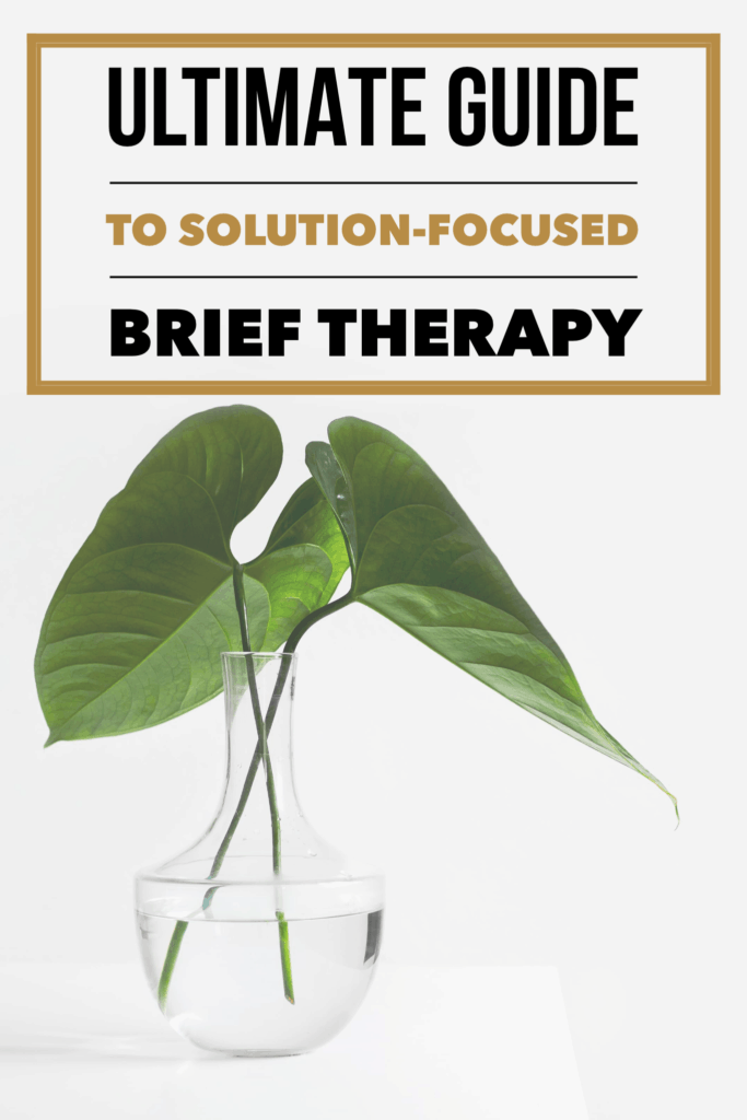 Solution-focused brief therapy is one of many methods for achieving mental health positivity. Learn how to incorporate SBFT into your life with our ultimate overview! #mentalhealth #mentalhealthawareness #therapy #selfhelp #mentalhealthquotes #improve